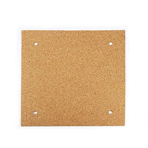 eamqrkt Kork Blatt Klebstoff Isolierung Platte Kompatibel 3D Drucker Beheizt Bett CR-10 Ender-3-310mm x 310mm -
