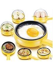 Glive Egg Boiler & Non-Stick Electric Frying Pan - Multicolor
