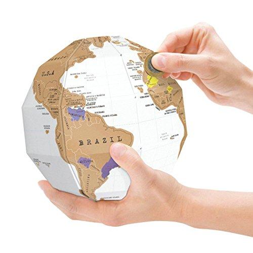 us aus Pappe mit Ländern zum Freirubbeln ()