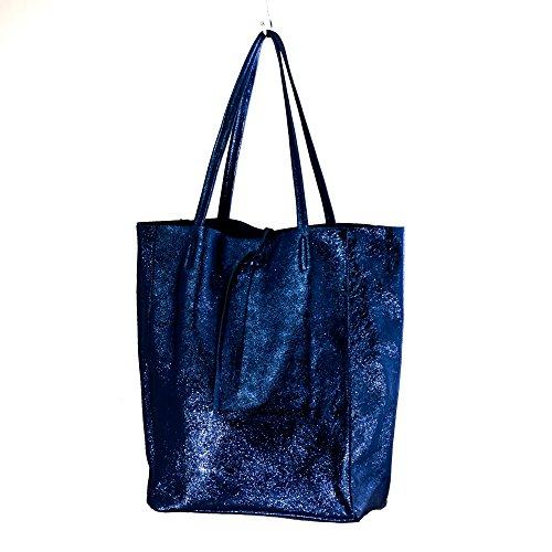 Vera Tuci ,  Damen Tasche Marineblau