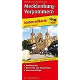 Mecklenburg-Vorpommern: Motorradkarte mit Ausflugszielen, Einkehr- & Freizeittipps und Tourenvorschlägen, wetterfest, reissfest, abwischbar, GPS-genau. 1:250000