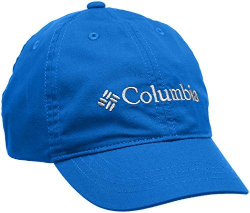 Columbia Schirmmütze für Kinder, Youth Adjustable Ball Cap, Baumwolle, Größenverstellbar, Blau (Geyser), Einheitsgröße, 1644971 -