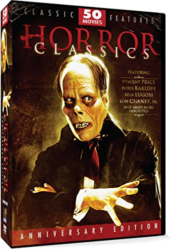 Horror Classics- 50 Movie Pack Anniversary Edition [12 DVDs]