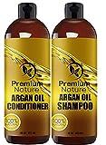 Die besten Arganöl Schampoos - Organic Argan Oil Shampoo 16 oz and Argan Bewertungen