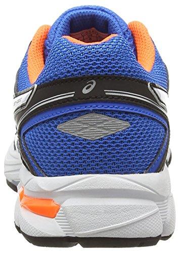 Asics Gt-1000 4 Gs, Unisex-Erwachsene Laufschuhe Blau (electric Blue/white/orange 3901)