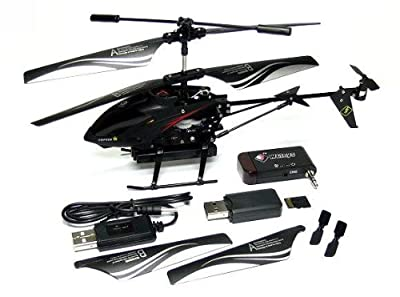 WLtoys S215 iPhone / Andoird Control 3.5ch Gyro Camera Mini i-Helicopter EH013 with RCECHO Full Version Apps Edition