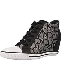 Calzado deportivo para mujer, color Negro , marca CALVIN KLEIN, modelo Calzado Deportivo Para Mujer CALVIN KLEIN VERO JACQUARD Negro