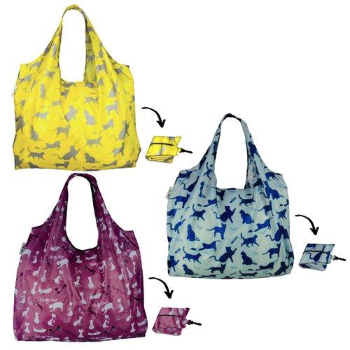 re-uz-lifestyle-xl-sac-reutilisable-pliable-shopping-sacs-de-courses-lot-de-3-cay-raisin-felin-chat-