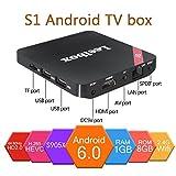 [Pure Version]Leelbox S1 Android TV Box Amlogic S905X Quad core Cortex A53 Android 6.0 1GB+8GB WIFI 2.4GHz 4K