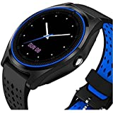 V9 Smartwatch Waterproof Bluetooth Smart watch Touch Screen with Camera, Smartphones Support SIM/TF Card Insert with Health Management Bluetooth 4.0 Watch Band Replaceable for Android Men Women Kids Boys Compatible with Apple iPhone 7 Plus 128GB by Liddu