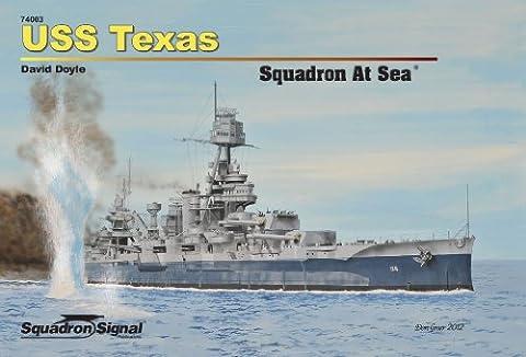 USS Texas Squadron at Sea - Hardcover