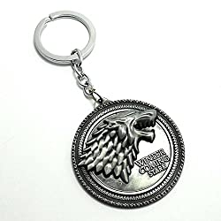 Evana Game of thrones Winter is coming keychain for cars and bikes