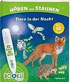 BOOKii Hören und Staunen Tiere in der Nacht: Antippen, Spielen, Lernen (BOOKii / Antippen, Spielen, Lernen)