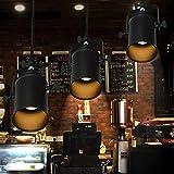 Shopping Maker 1Set American Land einzigen Kopf Lampe einfachen kreativen industriellen Wind Zimmer Internet Cafe Restaurant Kronleuchter Persönlichkeit Pole Deckenleuchten