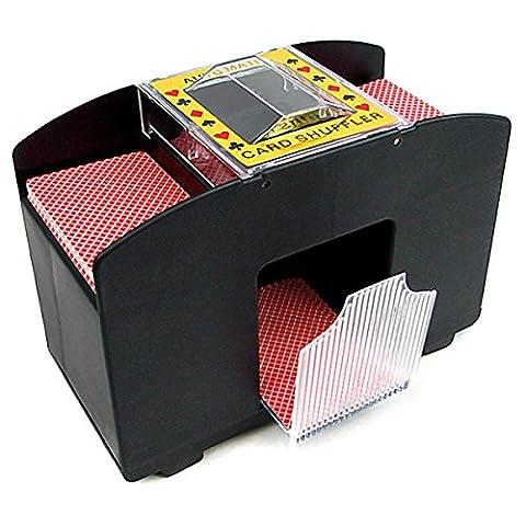 Mélangeur de cartes électrique pour joueurs de poker XXL pour 4decks
