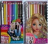 Bundle Buy Depesche TopModel - Top Model Skin & Hair 12 Pencil Set & Top Model...