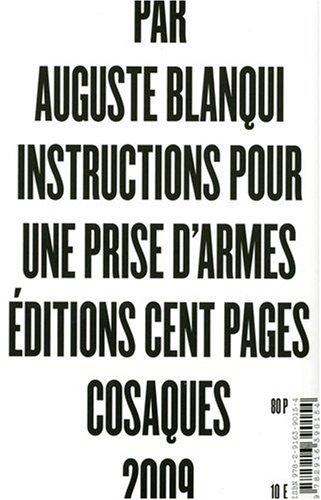 Instructions pour une prise d'armes par Auguste Blanqui