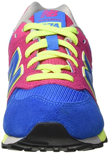 New Balance Unisex-Kinder Kl574wtg M Sneakers Multicolor (Pink/Blue)