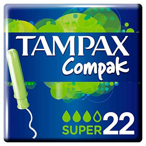 Tampax Compak Super Tampones Con Aplicador