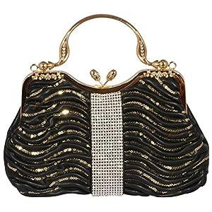 50888d210a Digabi Sequins Overlay c Evening Handbags women Crystal Evening Clutch Bags