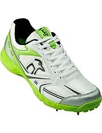 Kookaburra Pro 750 Pua Junior Niños Zapatillas Para Cricket Blanco/ Green