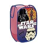 Arditex SW9447 Cesta pongotodo guarda juguetes, diseño Star Wars