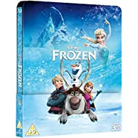 Frozen 3D (Includes 2D Version) - Limited Lenticular Edition Steelbook Blu-ray