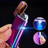 Feuerzeug USB Aufladbar Feuerzeug Lichtbogen Feuerzeug Elektronisches Feuerzeug Metall Plasma