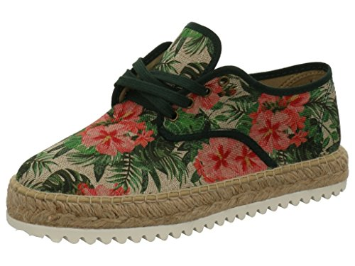 Natural World - eco friendly DAMEN LEINENSCHUH Botella