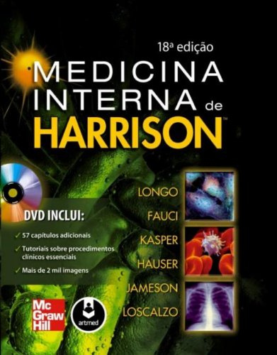 Medicina Interna de Harrison - 2 Volumes (Em Portuguese do Brasil)