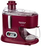 Maharaja Whiteline JMG Ultimate Treasure JX-101 550-Watt Juicer Mixer Grinder (Red)