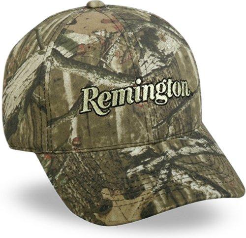 Remington Basecap, Front Unterbrechungen mit flachem Stich