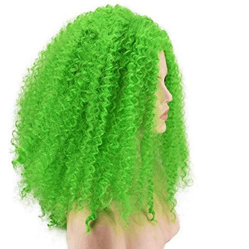 CXXX Frauen - perücke: Gelb, weiß, grün, rot, Gold Lange, lockige Haare, perücken Reihe