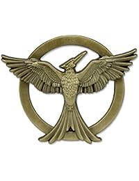 Tribute von Panem Mockingjay Spotttölpel Pin Anstecknadel aus Hunger Games lizenziert