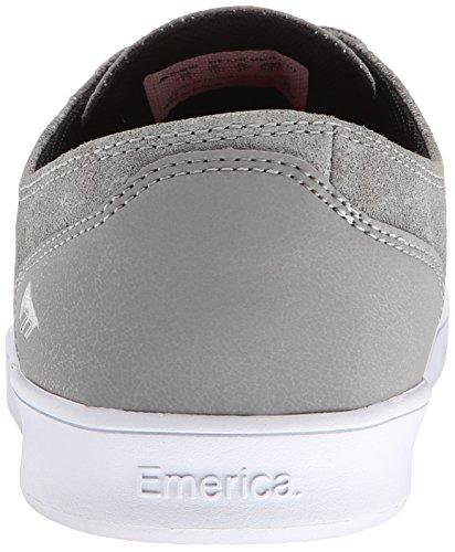 Emerica Laced By Leo Romero-M, Baskets mode homme Gris/noir/blanc