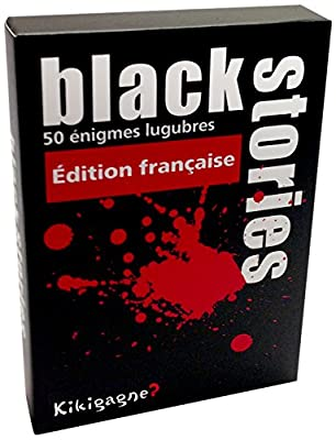 Kikigagne - Kikibs01f - Jeu De Réflexion - Black Stories