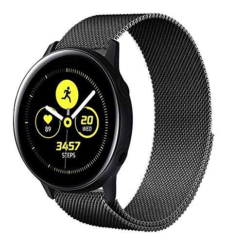 Uatone Cinturino in Metallo per Samsung Galaxy Active 40mm, Cinturini di Ricambio in Acciaio Inossidabile Cinturino per Samsung...