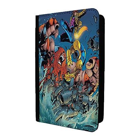 Marvel Superhero Comic Book Passport Holder Case Cover - Gambit