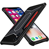 IPhone X Case,Salawat Cool Racing Car Design Hard Shell TPU Bumper Shock Absorption Drop Protection For IPhone X (5.8 Inch)with Lanyard Holes ?- Manufacturer: Salawat