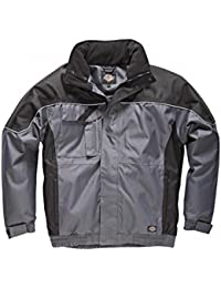 """Dickies IN30060 GBKL Size Large new """"Industry300"""" Winter Jacket - Grey/Black"""