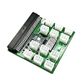 angitu 6Pin: 12pcs 6Pin Plugs Breakout Board with Power On/Off Switch for Bitcoin Mining