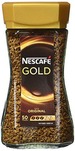 Nescafé Gold Original, Löslicher Kaffee, 100g Glas (5er Pack)
