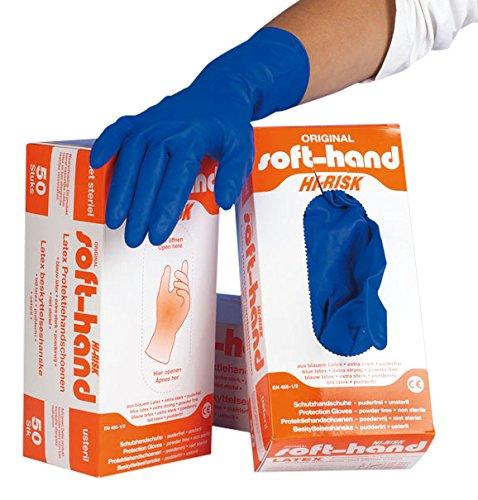 Soft-Hand H9 7053 Hi-Risk Handschuhe, puderfrei, XL (50-er Pack)