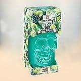 Punch au Rhum Mojito Cubano, Quai sud Rhum Marie Galante Citron vert - Menthe, tête de mort en verre 70 cl