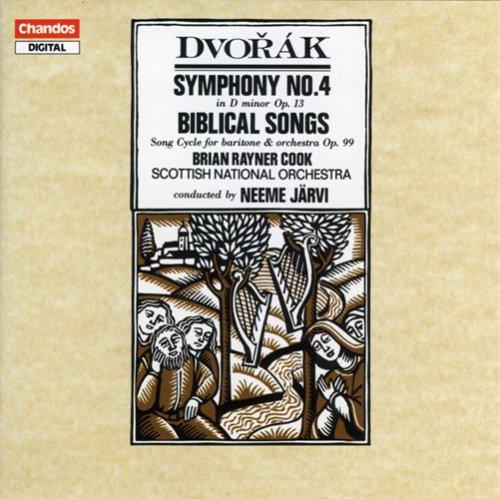 Dvorak: Sinfonie Nr.4 Op.13 / Biblische Lieder Op.99