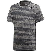 adidas Yb Gradient tee Camisa de Golf, Niños, Gris (Gricua/Carbon), 116 (5/6 años)