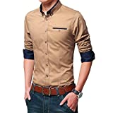 #3: SANDY BROWN CASUAL FANCY SHIRT