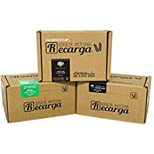 Pack 3 recargas de materias primas para elaborar cerveza en casa. #Cervezanía IPA, Califa Amber Ale & Albero Gastronómica Pale Ale