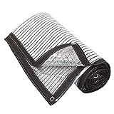 Yuany Paralume in Tessuto Schermo ombreggiante Balcone Foglio di Alluminio Protezione Solare Riflettente Copertura per Serra Copertura per pergola Auto, 22 Dimensioni, Personalizzazione del suppor