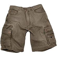 Kakadu Traders rstyle exterior Cargo–Pantalones cortos, hombre, color pardo, tamaño 40